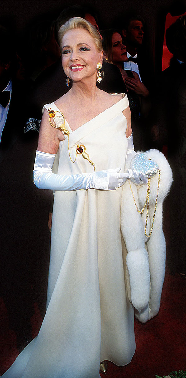Anne Jeffreys during The 70th Annual Academy Awards - Red Carpet at Shrine Auditorium in Los Angeles,...