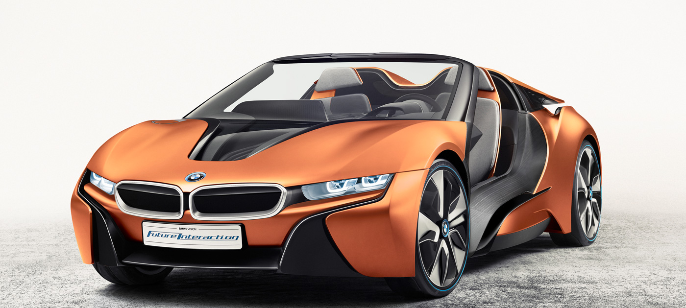 bmw 39 s concept car puts next gen interior in a sports car. Black Bedroom Furniture Sets. Home Design Ideas