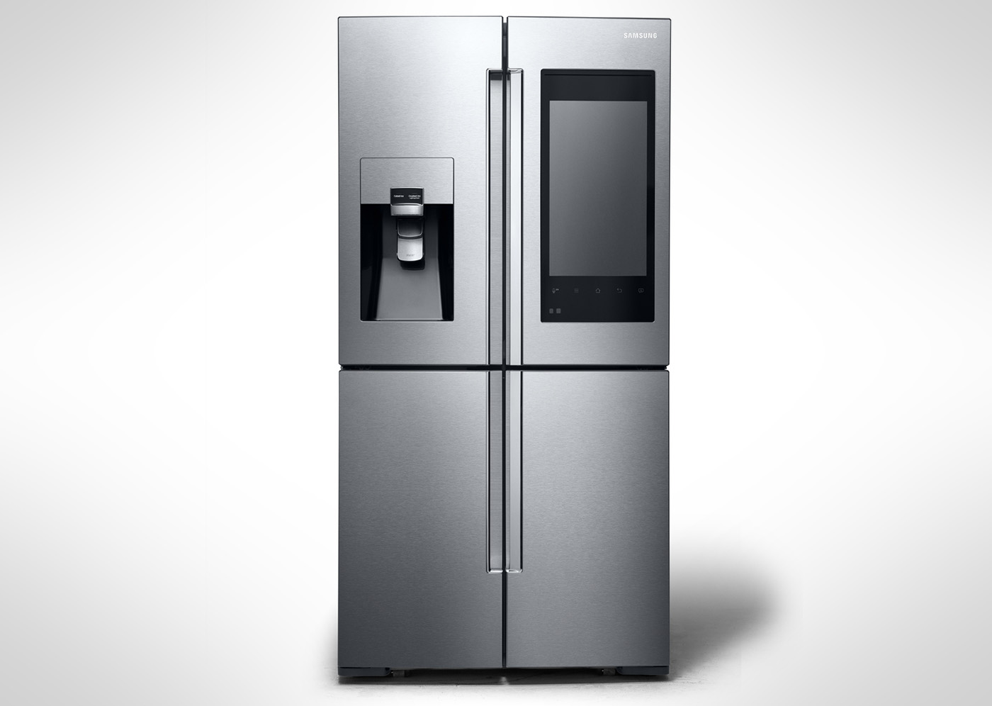 Samsung\'s latest smart fridge has cameras and a huge display