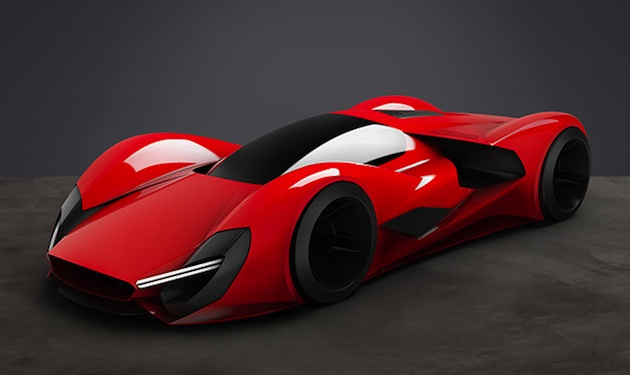 フェラーリが2040年のスーパーカーをテーマに、学生向けのデザイン・コンテストを開催!