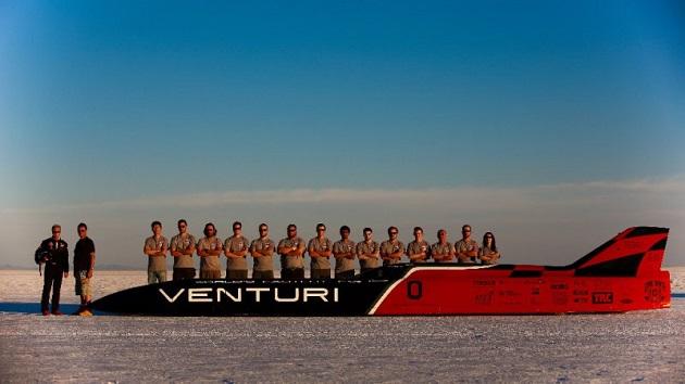 ヴェンチュリ「VBB-3」、ボンネビルで電気自動車最速記録をまたもや更新!