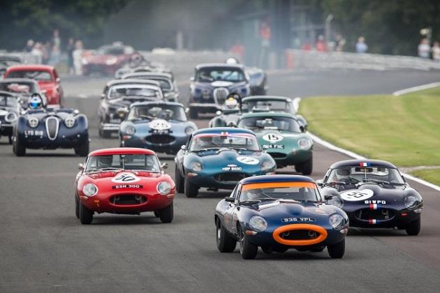 1966年以前のジャガーによるヴィンテージカー・レース、「ジャガー・クラシック・チャレンジ」がル・マンで開催