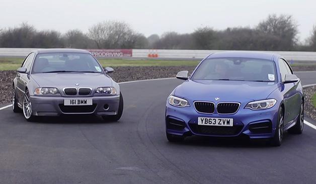 【ビデオ】BMW「M235i」とE46型「M3 CSL」がラップタイム対決!