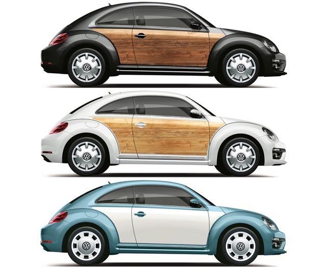 1950年代風にチェンジ! !VW「ザ・ビートル」をクラシカルに仕上げる専用パーツが登場!!