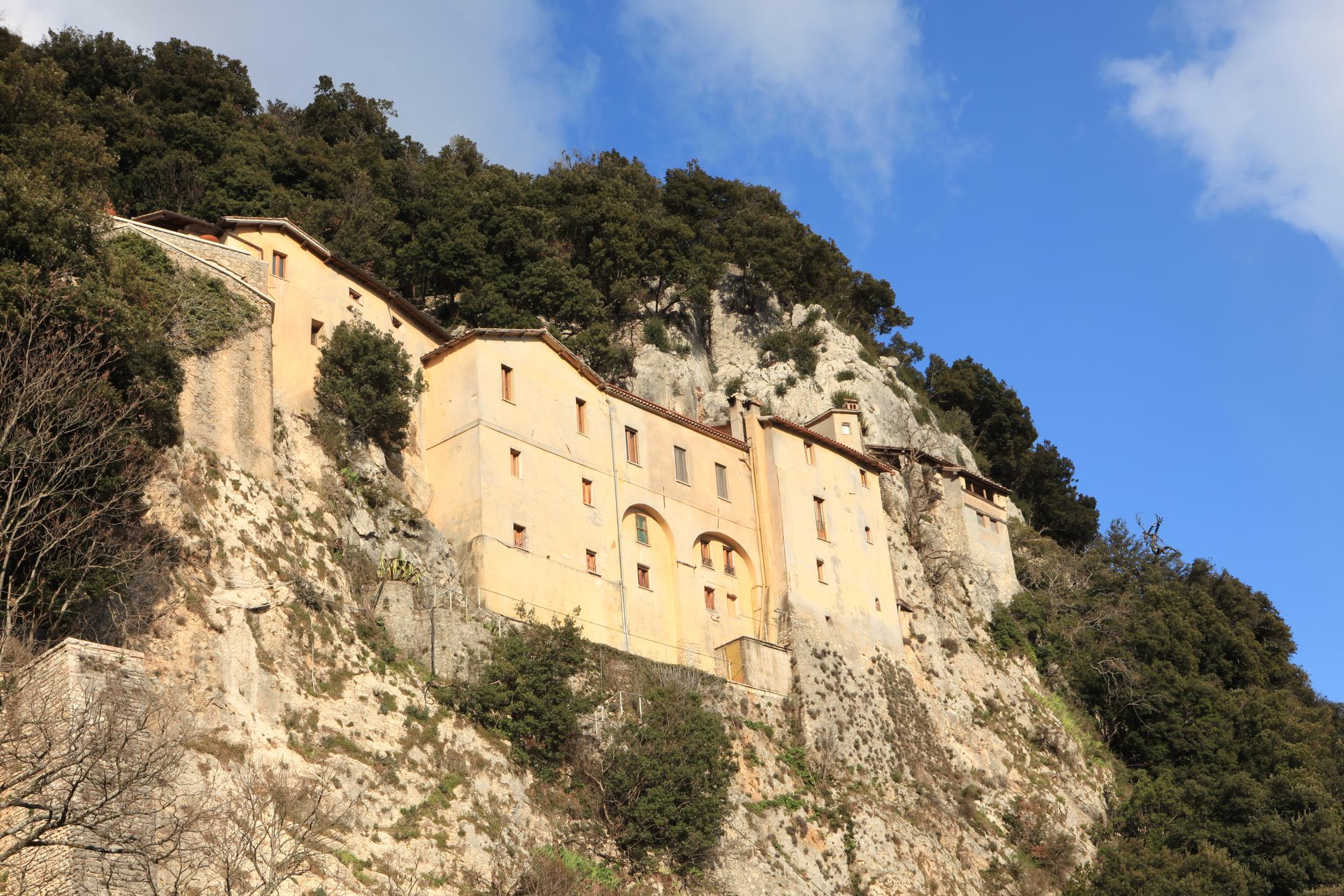 """Santuario Francescano, Greccio Lazio Italy- OTHER photos from Lazio outside"