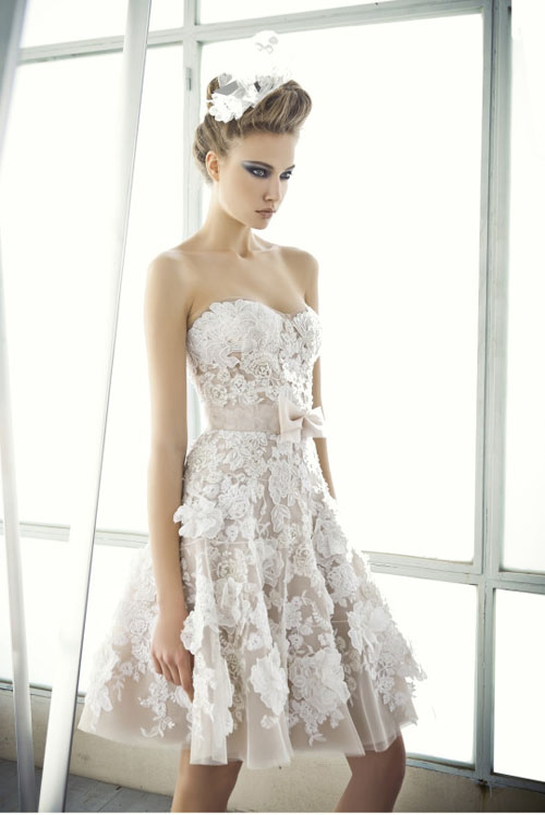 21 Incredibly Adorable Short Wedding Dresses Aol Lifestyle