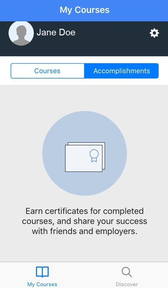 coursera app for students