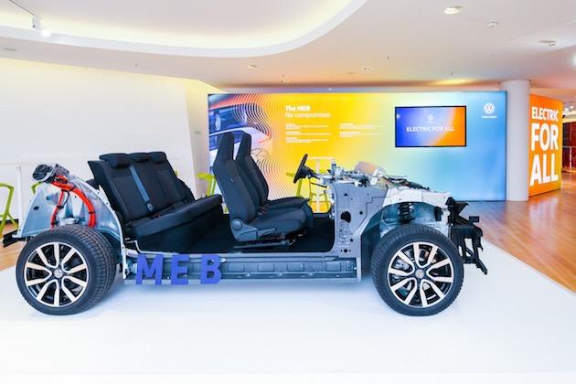 フォルクスワーゲン、1,000万台の電気自動車用に新開発したプラットフォーム「MEB」を初公開!