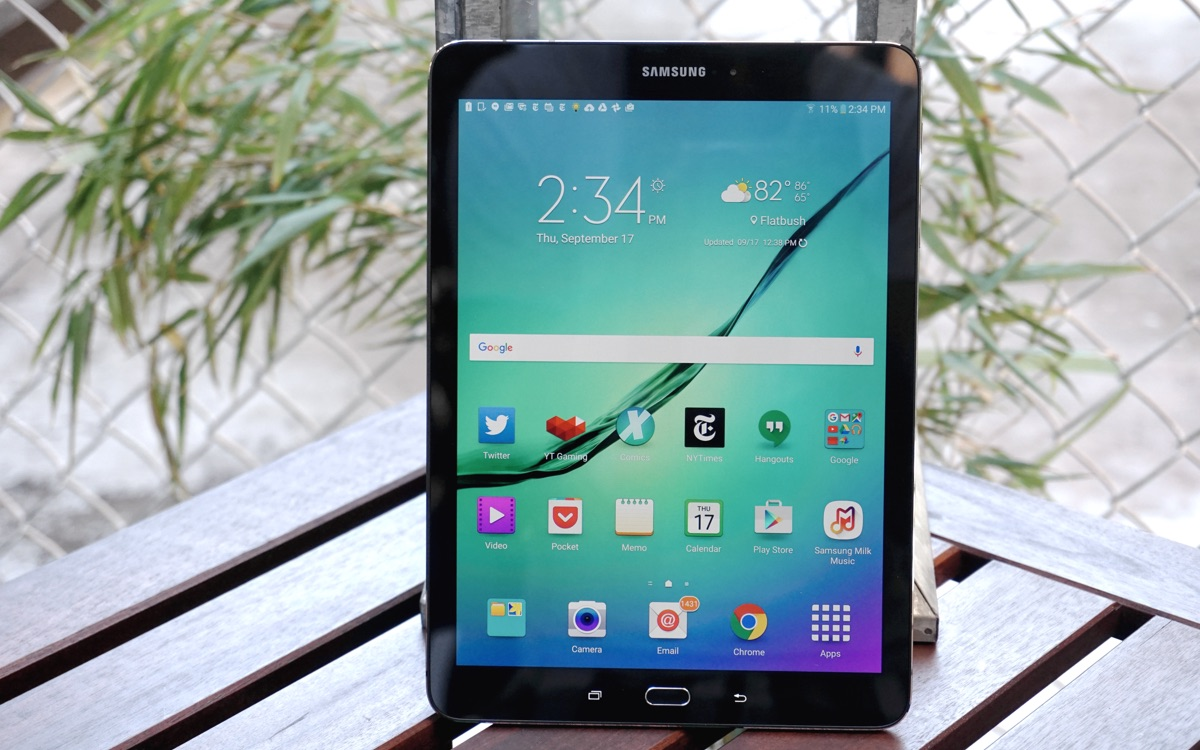 Samsung galaxy tab s2 review insanely thin but not much of an upgrade