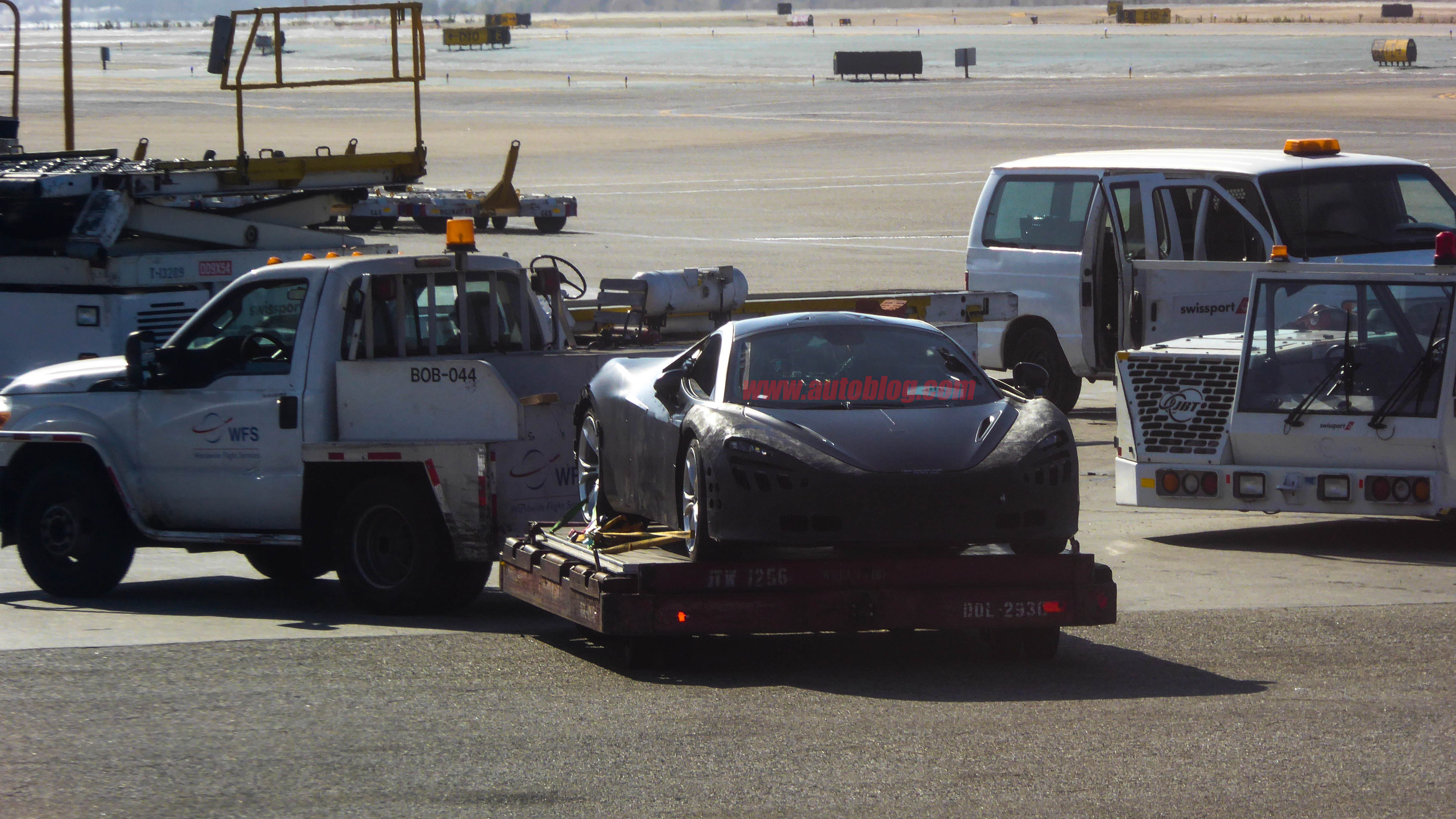 mclaren 650s replacement spotted at lax and in spain - autoblog