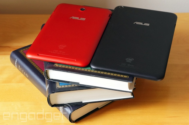 ASUS MeMO Pad 7 and 8 en repose