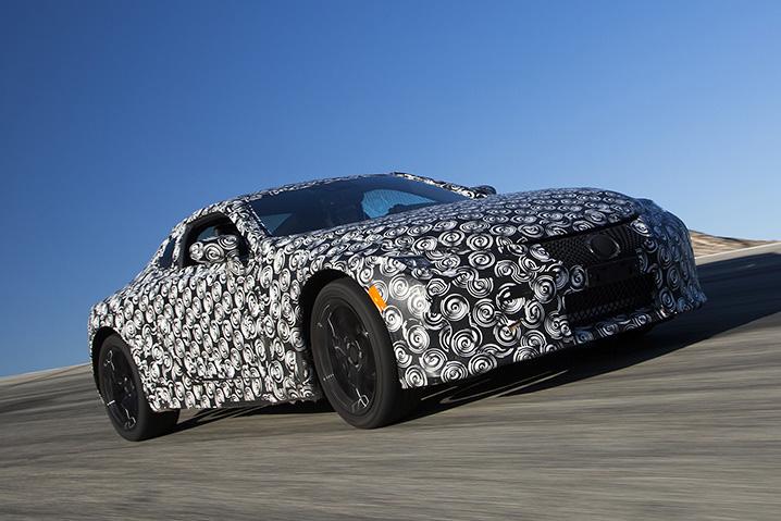 2018 Lexus LC 500 Prototype