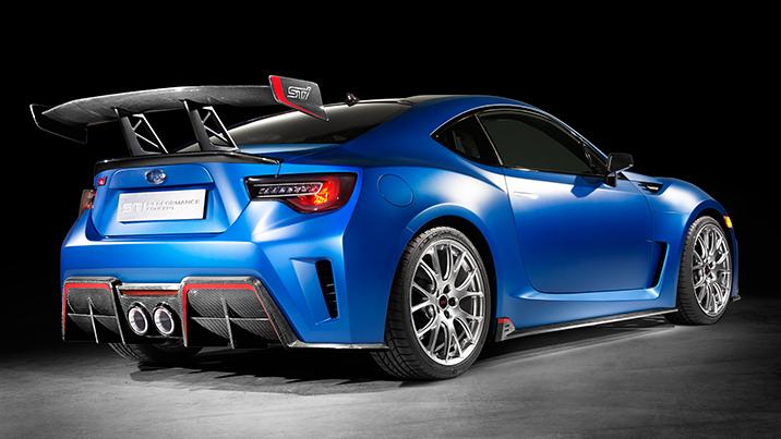 Subaru STI Performance Concept previews a bright BRZ future