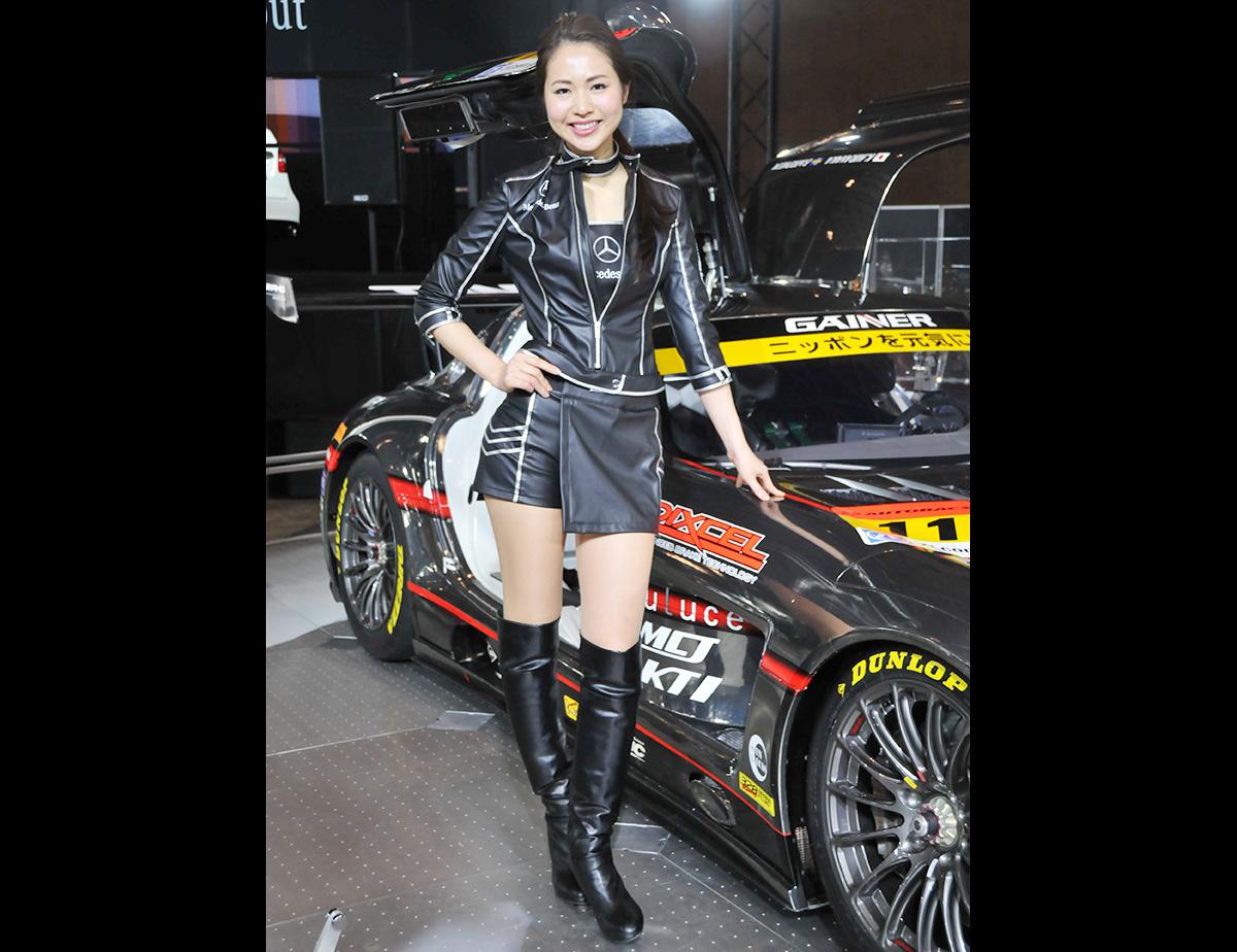 TOKYO AUTO SALON 2015 GIRL