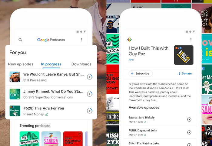 Google launches dedicated podcast app for Android