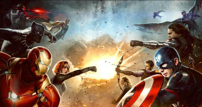 New 'Captain America: Civil War' Concept Art Reveals Avengers Taking Sides