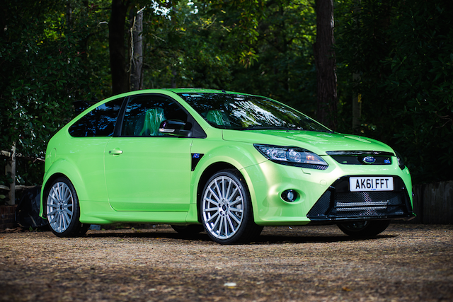 Six Year Old Ford Focus Rs With Just 18 Miles Ready To Go Under The