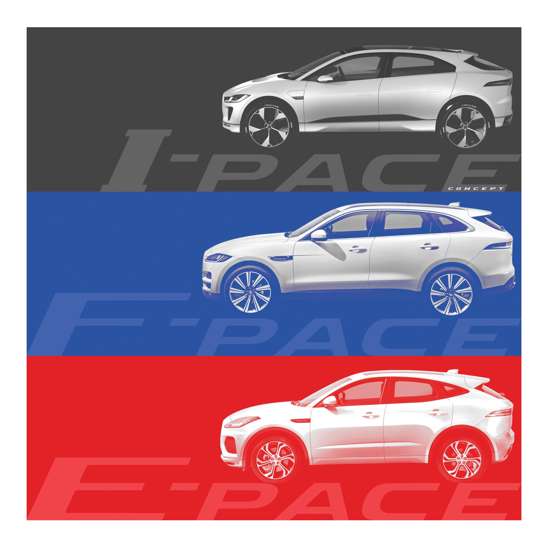Jaguar Teases E-Pace Crossover Details