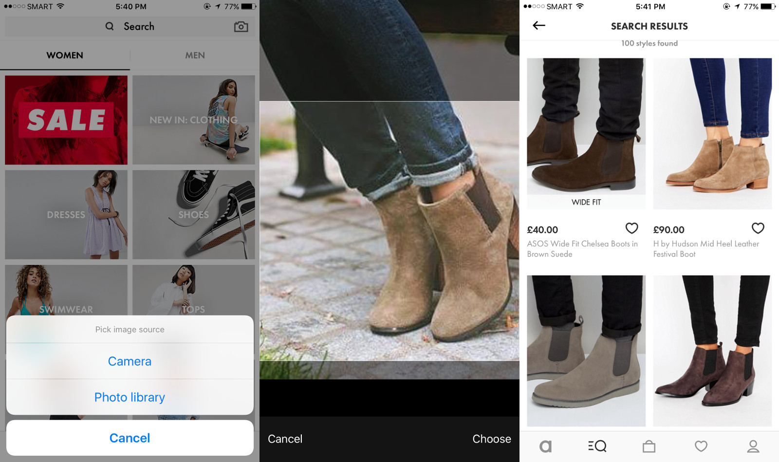 ASOS adds visual search to ease your fashion hunt