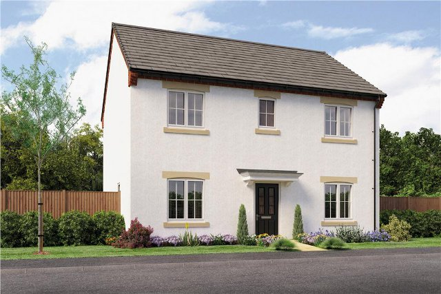 Artists impression of the finished house