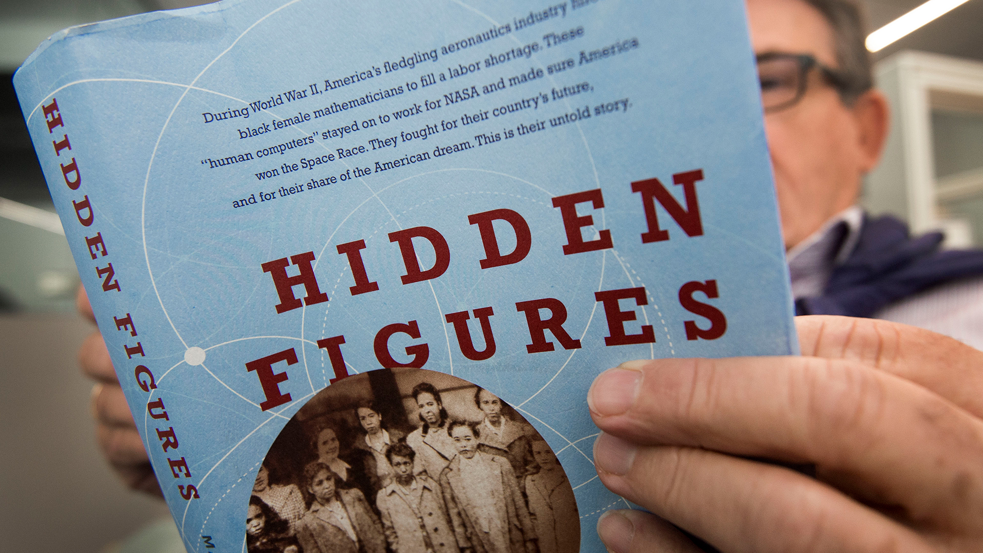 """Johnson work for NASA as she faced gender and race discriminations was the inspiration for the book """"Hidden Figures"""" by , Margot Lee Shetterly."""