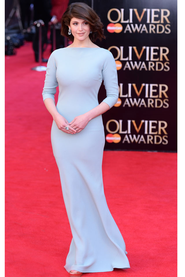 LONDON, ENGLAND - APRIL 13:  Gemma Arterton attends the Laurence Olivier Awards held at The Royal Opera House on April 13, 2014 in London, England.  (Photo by Karwai Tang/WireImage)