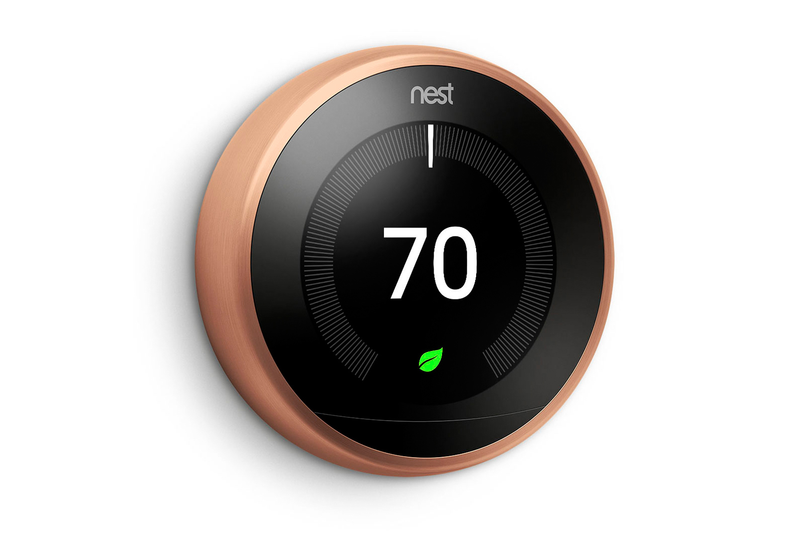 nest 39 s smart thermostat now comes in a range of colors updated. Black Bedroom Furniture Sets. Home Design Ideas