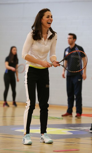 Kate Middleton in workout clothes
