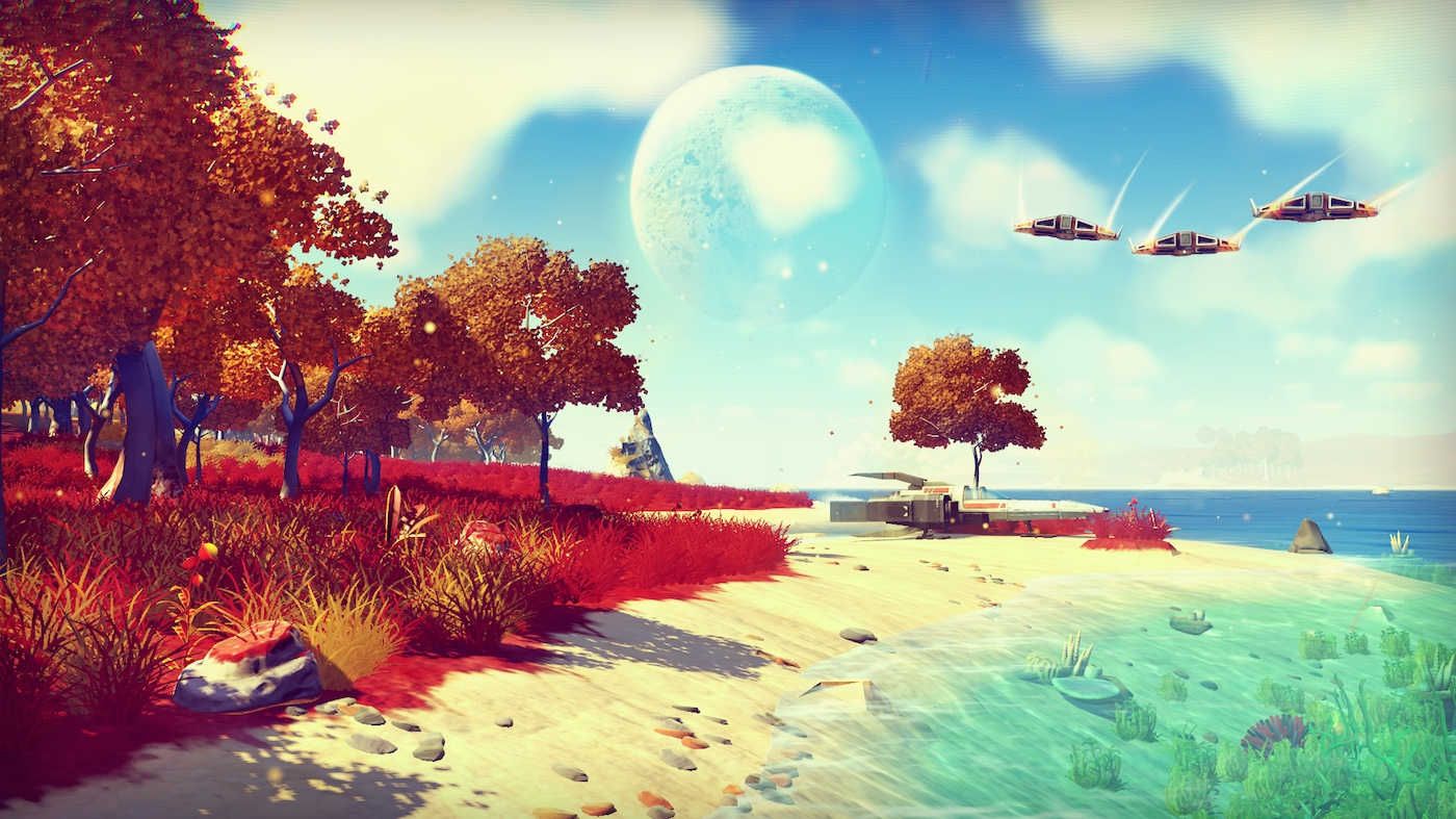 'No Man's Sky' day one patch changes large parts of the game