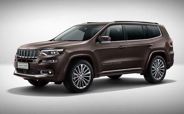 意外と大きくない!? ジープ、3列シートの新型SUV「グランドコマンダー」を北京モーターショーで発表