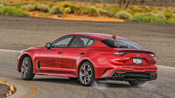 2018 kia stinger gt first drive review sleeper of the year autoblog. Black Bedroom Furniture Sets. Home Design Ideas