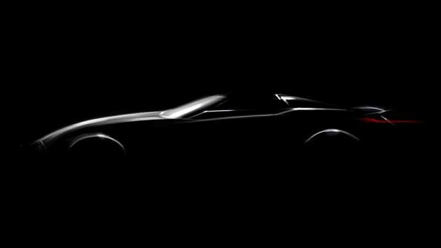 BMW、謎のオープン・スポーツカーの発表を予告!