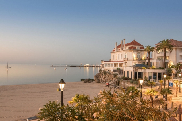 Albatroz hotel in Cascais, Portugal for family half term beach holiday