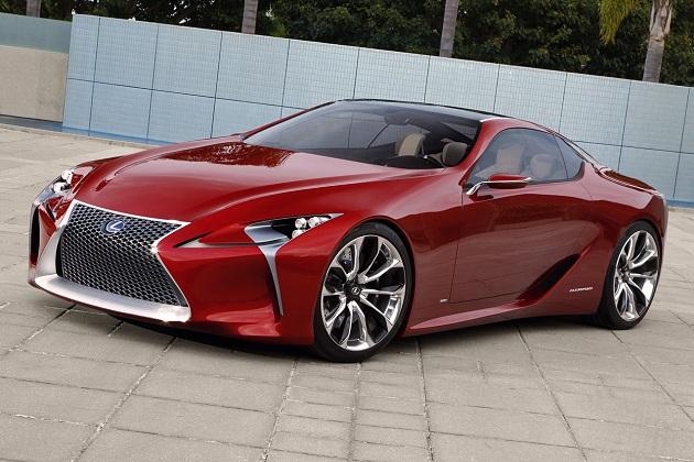 【噂】レクサス、新型クーペ「LC500」を北米国際自動車ショーで発表か?