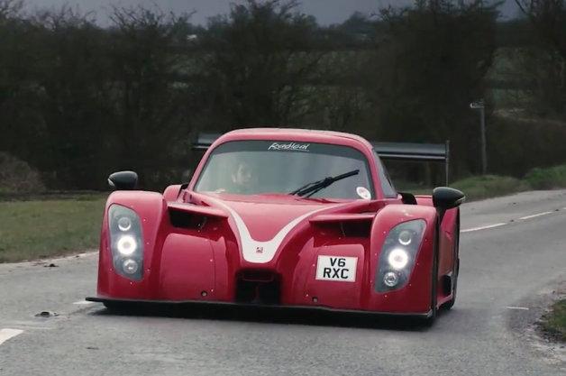 【ビデオ】公道走行可能なレーシングカー、ラディカル「RXC」で実際に公道をドライブ!