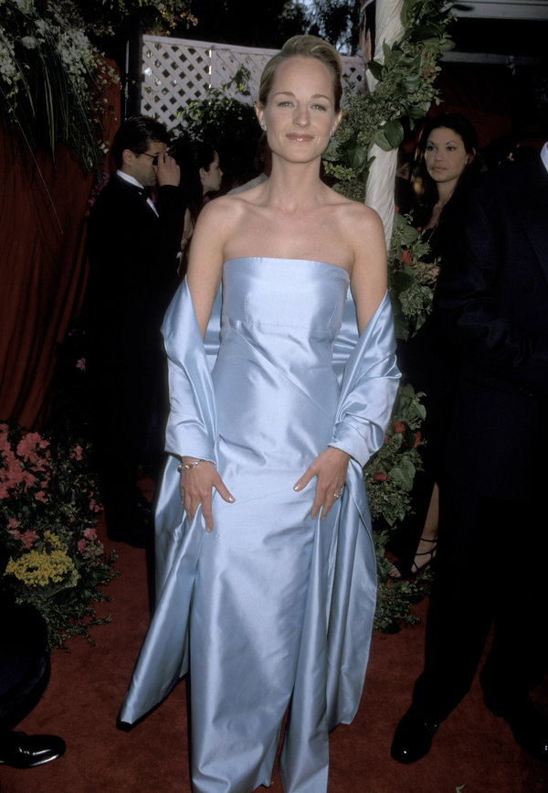 Helen Hunt during The 70th Annual Academy Awards - Red Carpet at Shrine Auditorium in Los Angeles, California,...