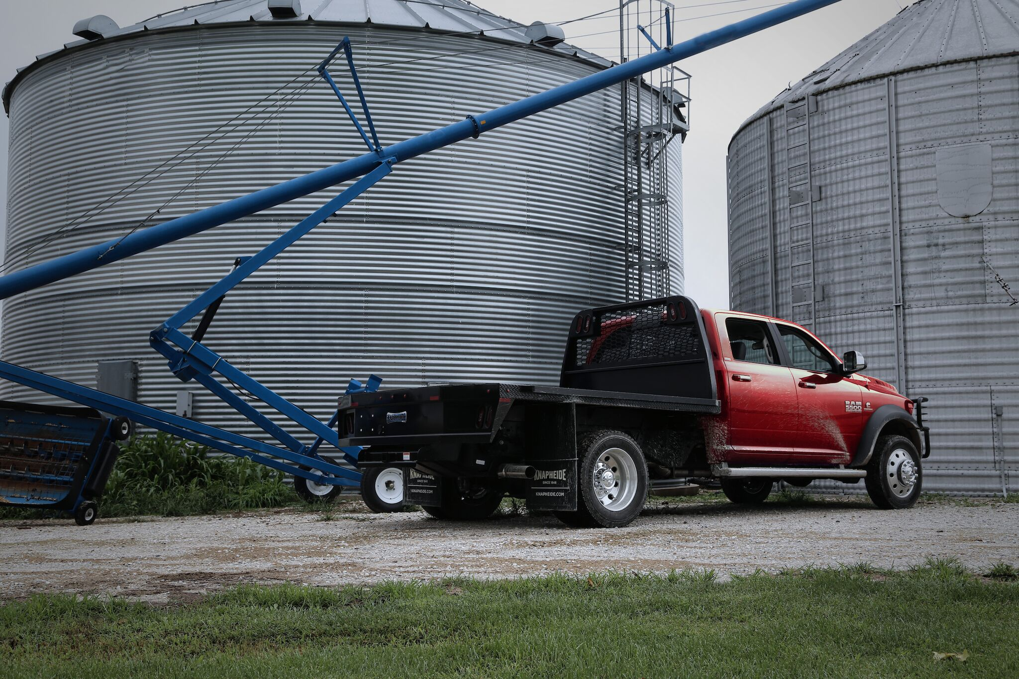 Ram Color Matches Trucks To Case Ih Red Or New Holland