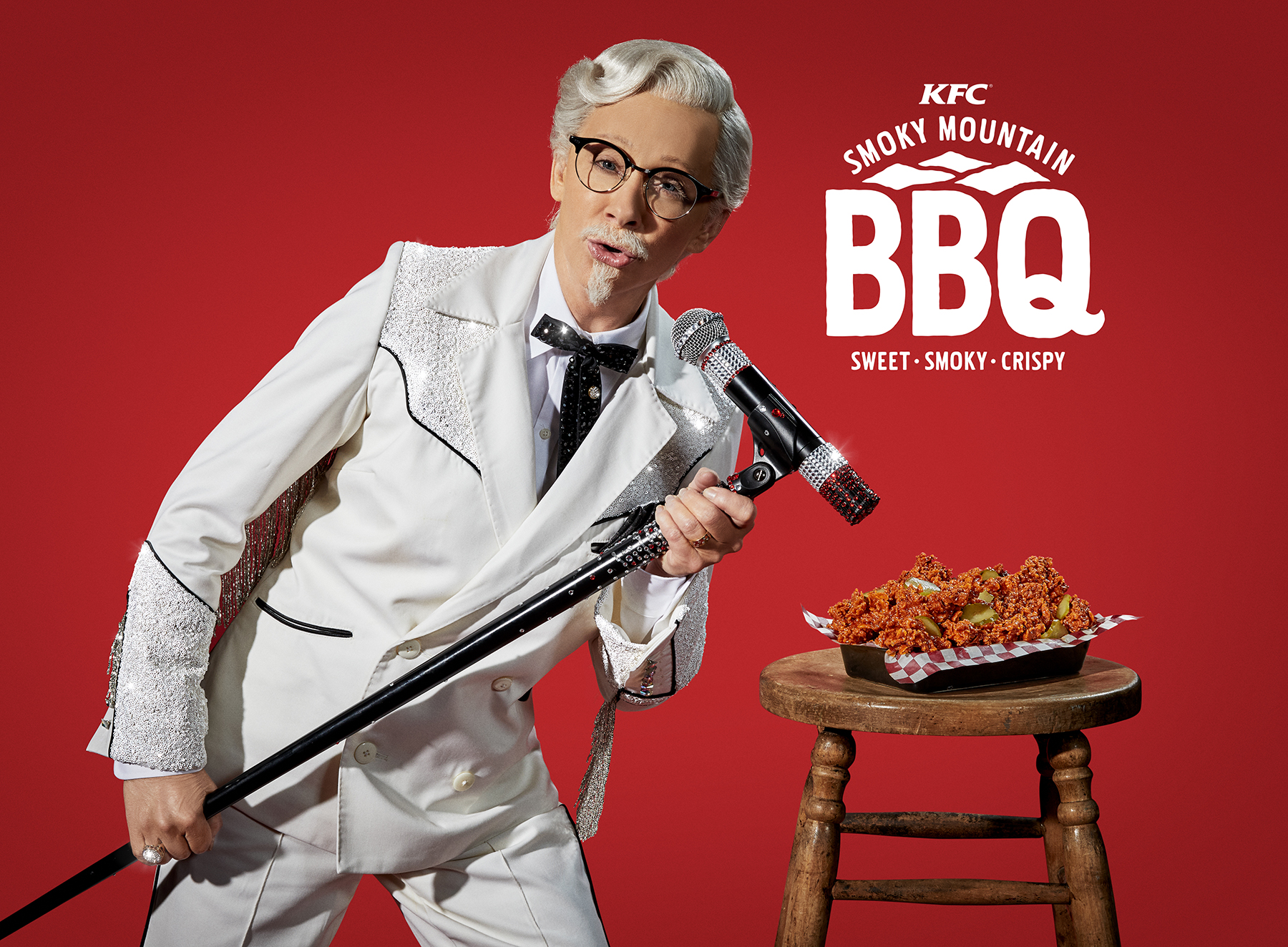 Reba McEntire is KFC\'s first female Colonel Sanders: Watch the ad ...