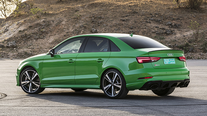 Coming To America 2018 Audi Rs3 Sedan First Drive Autoblog
