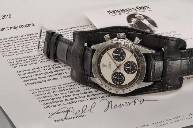 ポール・ニューマンが映画『レーサー』でつけていたロレックス・デイトナ、腕時計として史上最高額の20億円で落札!