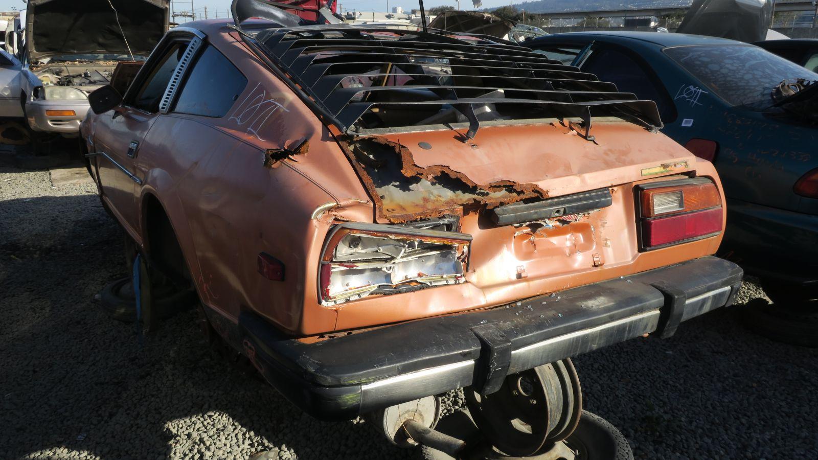 Junkyard Gem: 1981 Datsun 280ZX - Autoblog
