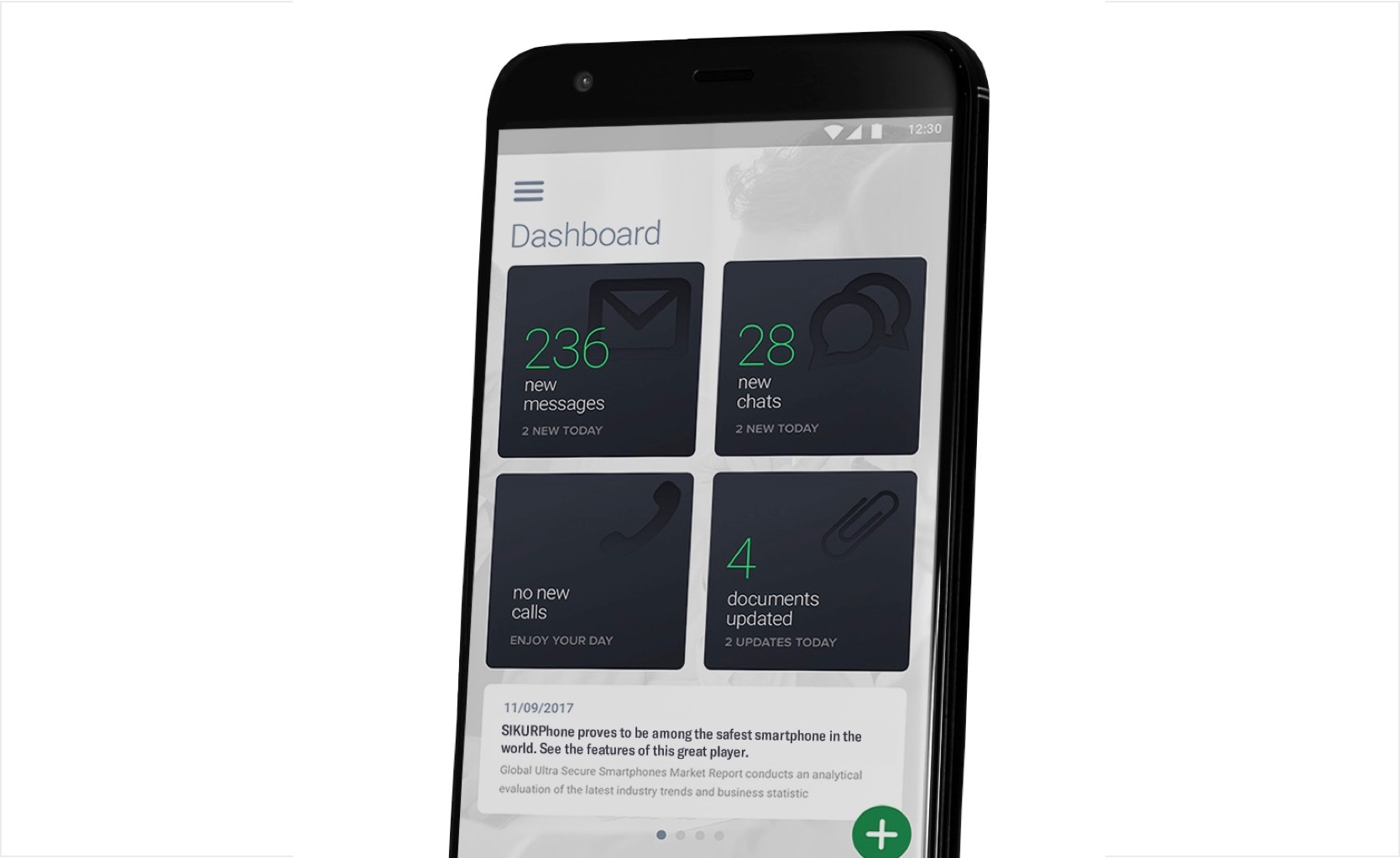 Encrypted SIKURPhone protects data and cryptocurrency