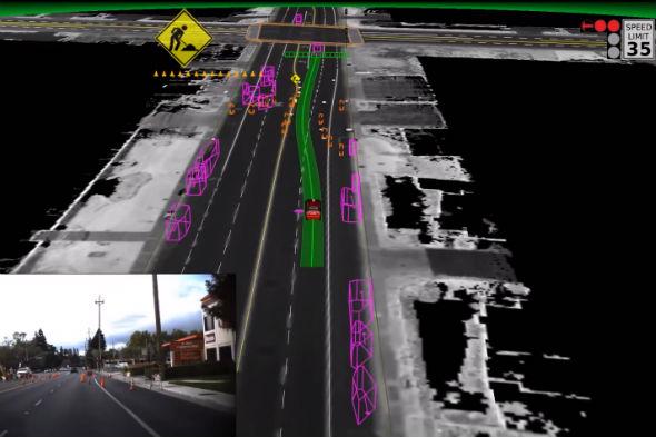 How autonomous vehicles see the world