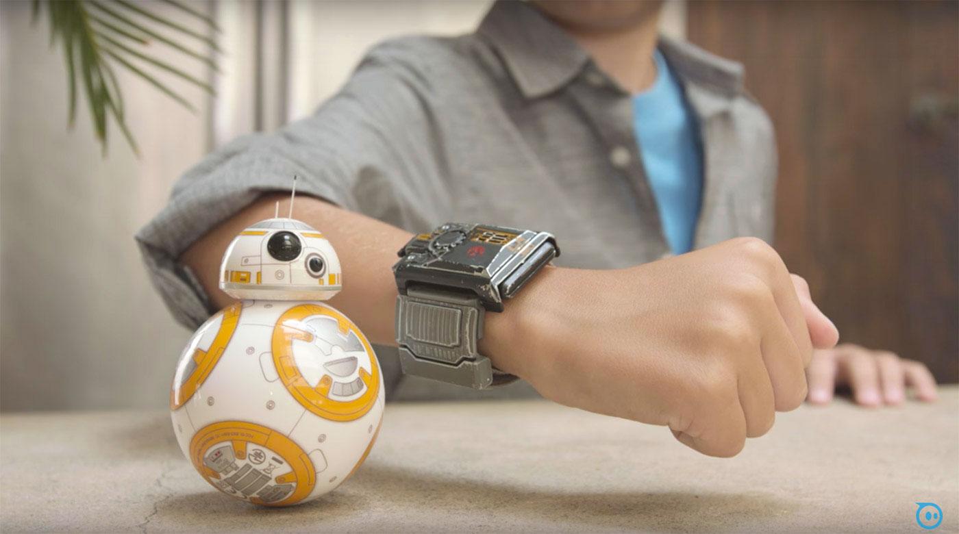Kết quả hình ảnh cho Star Wars Sphero BB-8 + Force Band
