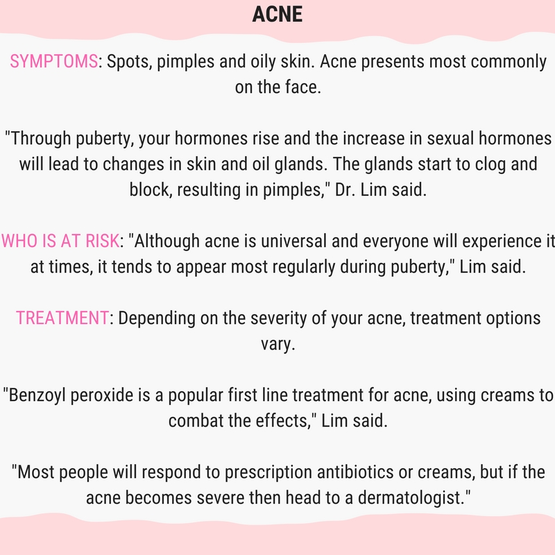 8 Skin Conditions You Should Know