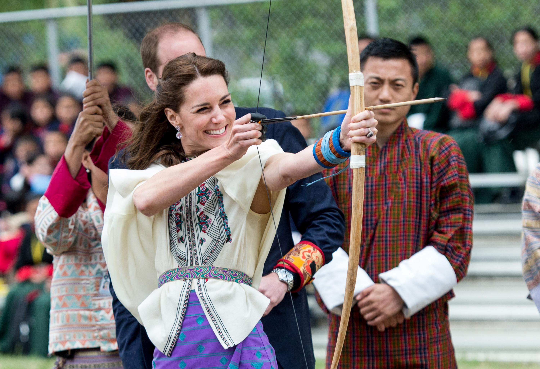 The Duke & Duchess Of Cambridge Visit India & Bhutan - Day 5