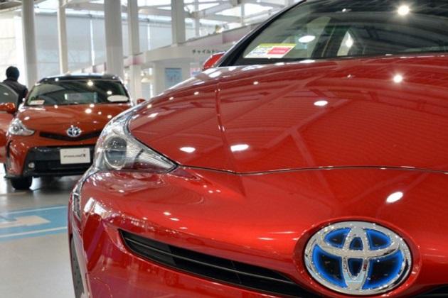 日本の生産量の半分を輸出しているトヨタ