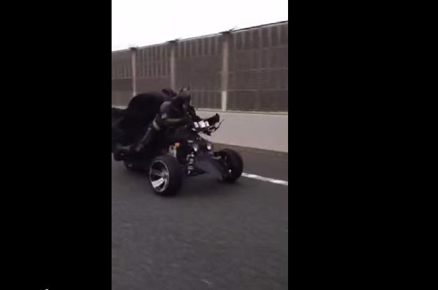 【ビデオ】千葉の高速をバットポッドで走行する