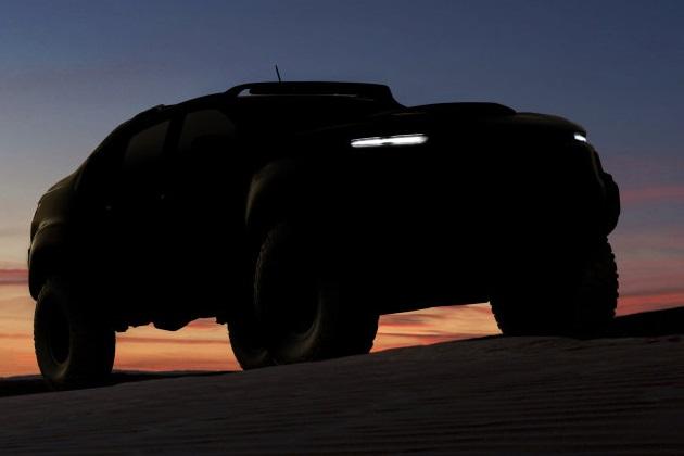 シボレー「コロラド」をベースにした軍用車、燃料電池を搭載して間もなく登場