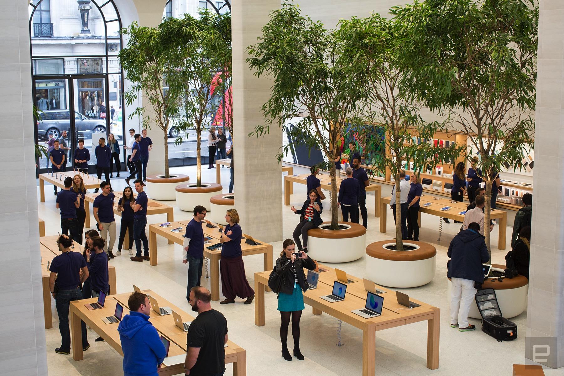 Apple Store Londýn - svetapple.sk